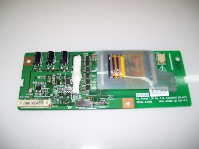 LG 32LC2D SLAVE INVERTER BOARD YPNL-T009B , tv parts , 6632L-0208B