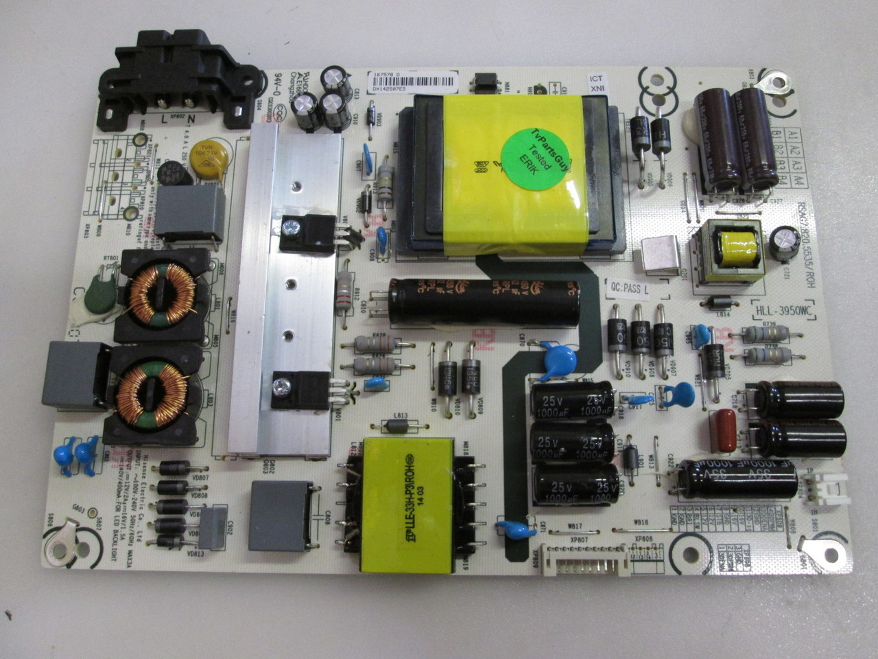 HISENSE 40K200 POWER SUPPLY BOARD RSAG7 820 5535, tv parts