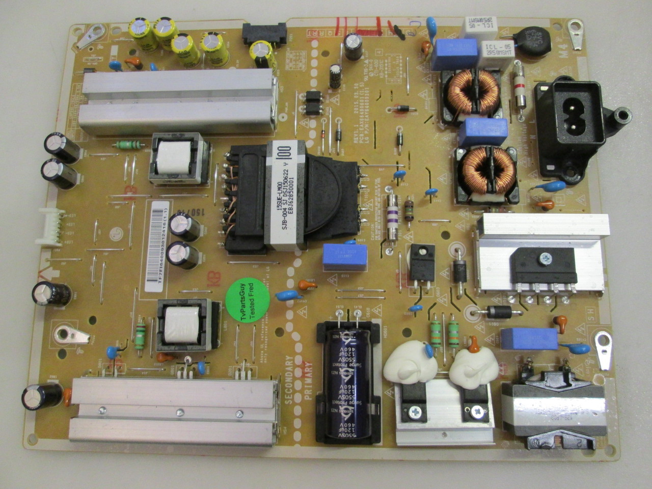 LG EAY64009301 EAX66490601 55UF6450-UA POWER SUPPLY