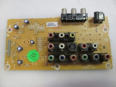 This Sylvania A71A1MPS|BA71F0F01023-4 AV Input is used in LC260SC8. Part Number: A71A1MPS, Board Number: BA71F0F01023-4. Type: LCD, AV Input, 26""