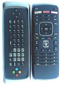 VIZIO XRT302 QWERTY REMOTE CONTROL WITH AMAZON , NETFLIX , AND M-GO BUTTON