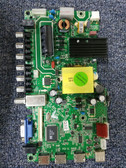 HITACHI LE40S508 MAIN BOARD/POWER SUPPLY 918B4W7 / JUC7.820.00119472