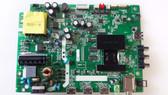 "TV LED 40"", TCL ,40FS3800, MAIN BOARD , T8-40NAZP-MA2 ,40-UX38M0-MAD2HG"