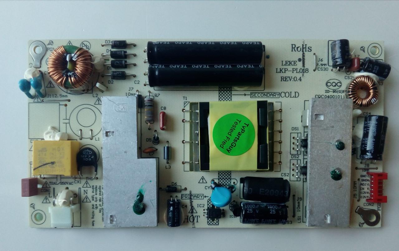 HANNSPREE SC24LMUB POWER SUPPLY LK-PL240402B / LKP-PL018 REV:0.4 on