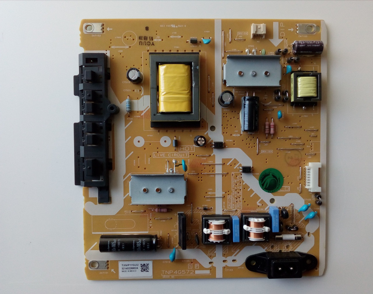 Panasonic Tc P1yguu    Tnp4g572