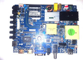 SANSUI SLED5515W MAIN / POWER SUPPLY BOARD CV3393BH-B50 / 63H0441