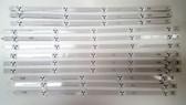 "LG / VIZIO 47"" LED Light Strips Complete set of 12 6916L-1174A / 6916L-1175A / 6916L-1176A / 6916-1177A"