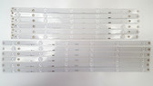 HITACHI LE55A6R9A LED Light Strips Complete set of 12 LB55061 / 55D3000/D2000