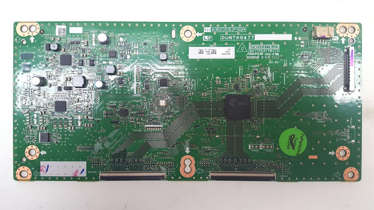 Sharp LC-80LE661U T-Con Board KG477FM16 DUNTKG477FM16