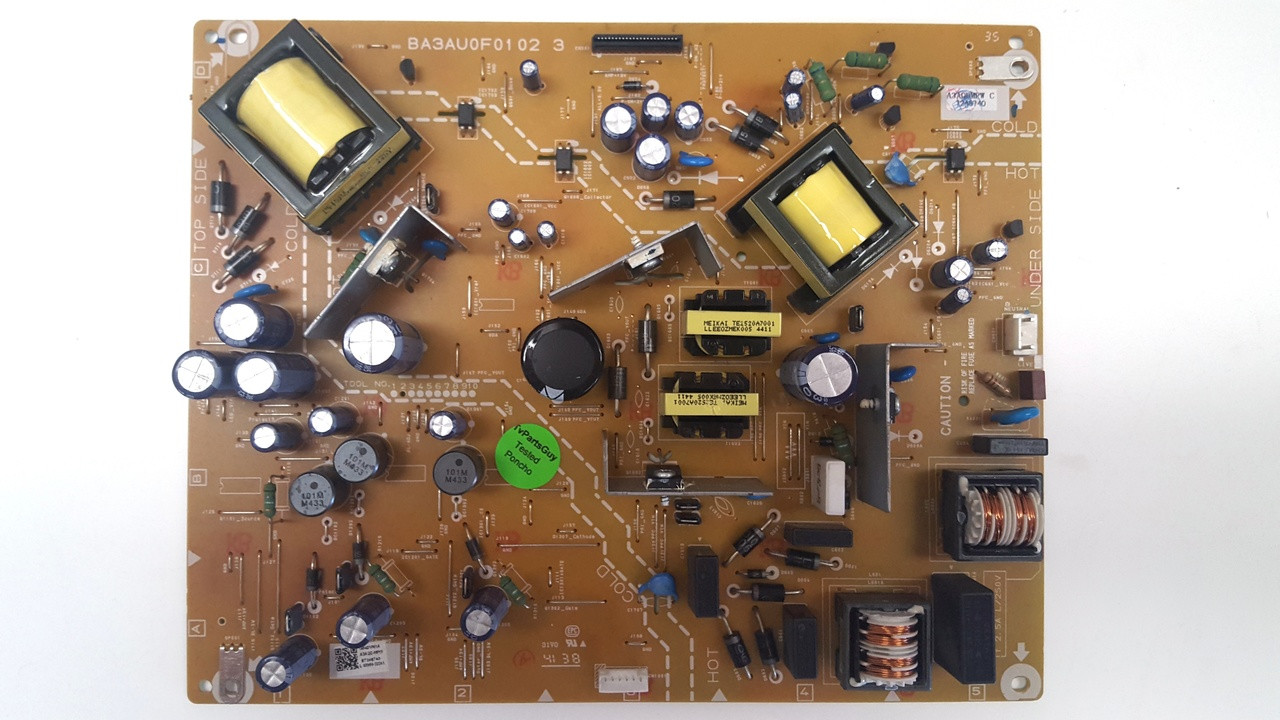 The Circuit Board At The Top Is The Power Board