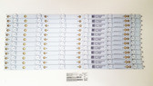 Vizio E50-E1 LED Light Strips set of 12 LBM500P0601-FW-2