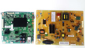 Toshiba 50L3400U Main board & Power Supply board set 461C7751L01 & PK101W480I
