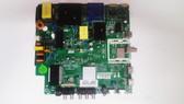 Avera 49EQX20 Main board / Power Supply board  TP.MS3458.PC757/ A17114798 with panel# LSC490FJ03-W