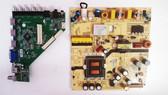 JVC LT-42EM76 Main board & Power Supply board set MS35530-ZC01-01 & 1POF248373D / 131P0160