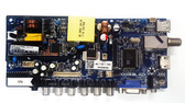 Quasar SQ240P Main board / Power Supply board CV3393BL-K23 / 50043393B01830 / 63H0425