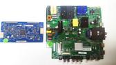 Sceptre U515CV-UMKR Main board / Power Supply board & Tcon board set TP.MS3458.PC758 / 8142123342081 & T500QVR05.5 / 5550T36C02