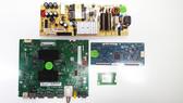 TCL 50S421 Main board w/ WiFi Module & Power Supply board & Tcon board Kit  08-AU50CUN-OC404AA / 07-RT8812-MA2G / 08-L12NLA2-PW200AA / 5550T32C11