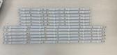 Vizio D50f-F1 LED Light Strips Complete set of 12 LB50094
