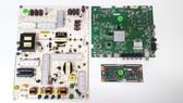Vizio E60-C3 Main board / Power Supply board & Tcon board KIT 0160CAP08101 / 09-60CAP080-01 / RUNTK5489TP Serial# LFTRRZAR / LFTRRZAS