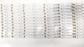 Vizio D50F-E1 LED Light Strips set of 12 LB-PF3030-GJVIZIO5012X6AH32-H