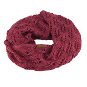 Coal The Madison Scarf Eternity Open Knit Berry