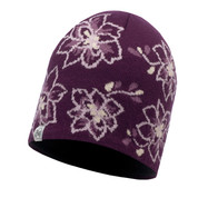 Buff Active Allie Primaloft Knitted Beanie Hat Purple Dewberry