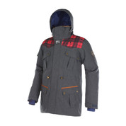 Picture Mens Dann Ski Snow Jacket Incl FOC Black Edition Hip Flash Denim Blue