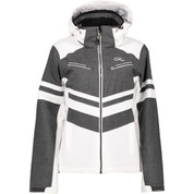 Five Seasons Womens Derya Ski Snow Jacket White