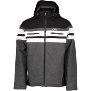 Five Seasons Mens Derick Ski Snow Jacket Black