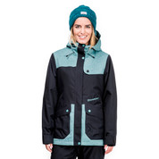 Horsefeathers Womens Babette Ski Snowboard Jacket Mint Neps OW161C