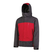 Protest Men's Benefit Ski Snowboard Jacket Red Burn