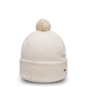 New Era Womens Premium Knit Beanie Stone One Size Fits All