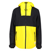 Wear Colour Mens Block Ski Snow Jacket Old Gold