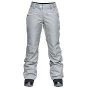 Wear Colour Womens Cork Ski Snow Pant Grey Melange