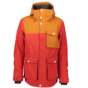 Wear Colour Mens Horizon Ski Snow Jacket Falu Red