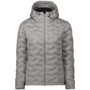 Five Seasons Womens Adita Down Insulated Ski Snow Jacket Light Grey