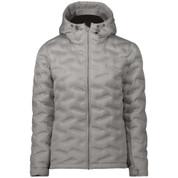 Five Seasons Womens Adita Down Insulated Ski Snow Jacket Light Grey