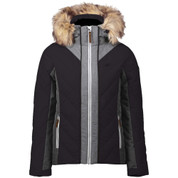 Five Seasons Womens Adona Ski Snow Jacket Black