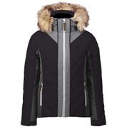 Five Seasons Womens Adona Ski Snow Jacket Black