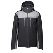 Five Seasons Men's Agaton Ski Snow Jacket Black
