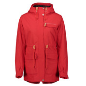 Wear Colour Womens State Ski Snow Parka Red