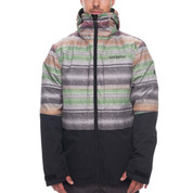 686 Mens SMARTY 3-in-1 Form Ski Snowboard Jacket Stripe Colorblock