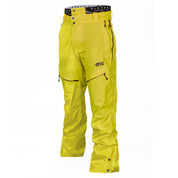 Picture Mens Naikoon Ski Snow Pant MPT077 Yellow