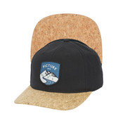 Picture Callaghan Unisex Cap Cork Curved Peak Hat SB095P Black