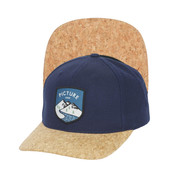 Picture Callaghan Unisex Cap Cork Curved Peak Hat SB095P1 Dark Blue