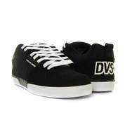 DVS Comanche 2.0+ Shoes Black White Nubuck