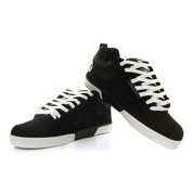DVS Comanche 2.0+ Shoes Black White Nubuck