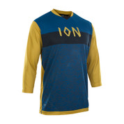 Ion Bike Scrub Amp 3/4 Length Sleeve Tee Jersey Rusty Leaves