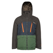 Protest Mens Buston Ski Snow Jacket Amazone