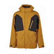 Bonfire Platinum Mens Firma Stretch 3 In 1 Ski Snowboard Jacket Camel